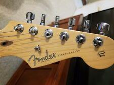 Fender American Standard Stratocaster Guitar, Black with Hardshell Case