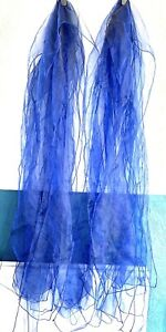 Wedding Party Events Royal Blue Sashes Bows For Chair Covers 12