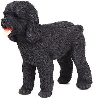 *NEW* PAPO 54025 Black Poodle Dog Model - farm animal 6cm - RETIRED