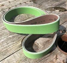 "6x 120 Grit Abrasive Belts 2""x72"" for Grinding/Polishing/Knife Making/Woodwork"