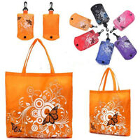 Foldable Shopping Bag Reusable Storage Grocery Shopper Pouch Tote