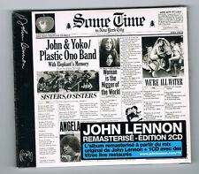 JOHN & YOKO / PLASTIC ONO BAND - SOME TIME IN NYC - 2 CD SET 16 TRACKS - NEW