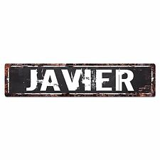 SFND0237 JAVIER MAN CAVE Street Chic Sign Home man cave Decor Gift Ideas