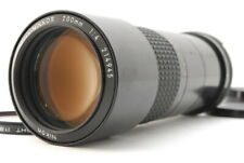 """""""Exc++"""" Nikon Ai-s Micro-Nikkor 200mm F/4 MF Telephoto Lens From Japan D280"""