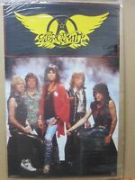 Vintage Poster AEROSMITH Group rock 1987 Inv#G1920
