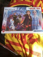 Disney Frozen 2 104 Piece Puzzle - Elsa Anna Olaf Sven Brand New And Sealed