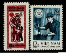 N.Vietnam MNH Sc 708-09 Mi PFM 21-22  Military Frank