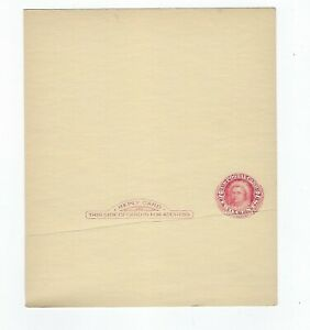 US #UY8 Mint Entire Postal Message/Reply Card EFO preprint crease KSStamps