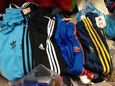 ADIDAS TRACK SUIT PANTS in sports man polyester in size 18 to 26 inch at£9 ree