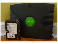 Modded Original XBOX 160GB **XMBC - COIN OPS 8 MASSIVE - VISIONARY 5**