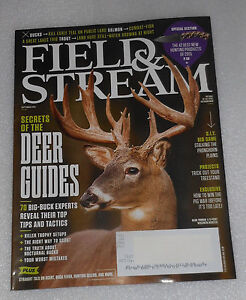 Field Stream Magazine September 2015 Deer Guides Best New Hunting Products
