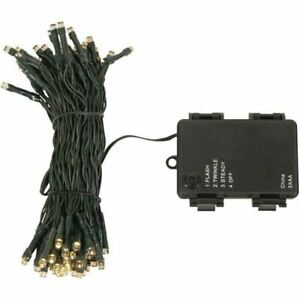 Luxform LED Indoor Outdoor Battery Operated Timer String Garden Fairy Lights 5m