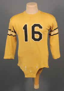 Men's 1940s University of MO ? Mizzou Football Jersey Med 40s Vtg School Uniform