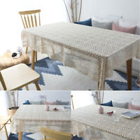 Rectangular Tablecloth Square Table Cloth Cover Hotel Wedding Party Home Decor