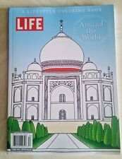 Life Around the World : A Lifestyle Coloring Book