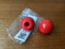 2 x 30mm red threaded knobs handles replacement