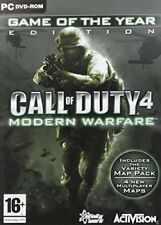 Call of Duty 4 Modern Warfare - Game of the Year Edition PC