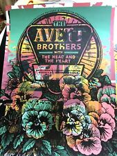 🔥 RARE TEST PRINT The Avett Brothers Poster Big Sky Missoula MT SEPT 16th 2018
