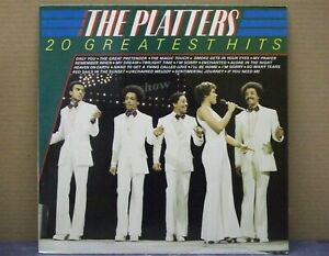 THE PLATTERS - 20 GREATEST HITS - LP - 33 RPM - MASTERS 1981