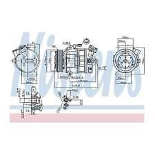 Fits Nissan Primastar X83 2.0 dCi 90 Genuine Nissens A/C Air Con Compressor