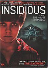 Insidious. Super-Chilling Modern American Horror. Brand New In Shrink!