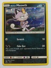 Alolan Meowth HOLO - SM43 - Sun & Moon Promo Pokemon Card