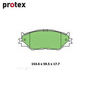 Front Brake Pad Set FOR Lexus IS250 GSE20R GSE30R 2005-2015 DB1852