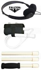 FALCON MD20 METAL DETECTOR Handle + Holster + Headphones ALL 3 ACCESSORIES PACK