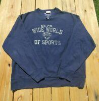 Champion Reverse Weave Disney ESPN Wide World of Sports Sweatshirt Men's XL Navy