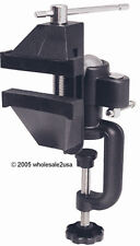 Heavy Duty Swivel Vise Table Clamp-on Jewelers Tool -Bk