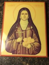"""ST THERESE OF LISIEUX ORTHODOX ICON  """"AWESOME"""" 5X6"""