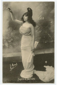 1902 vintage NEW YEARS 1903 photographer H. Manuel undivided back photo postcard