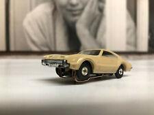 Aurora Tan Oldmobile Toronado slot car
