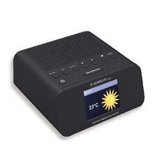 Albrecht DR 450 Internet/DAB+/UKW Radiowecker mit Farbdisplay und FB