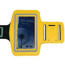 Yellow Sports Running Gym Armband Arm Band Case for Samsung Galaxy S5 S4 S3 S2