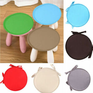 Round Garden Chair Pads Seat Cushion For Outdoor Office Stool Patio Home Dining