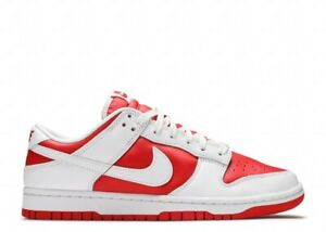 NEW Nike Dunk Low Championship Red DD1391-600 Men's Size 9 CONFIRMED