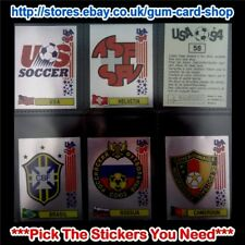 PANINI WORLD CUP USA 94 (FOIL BADGES) ***PICK THE STICKERS YOU NEED***