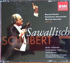 Schubert: Sacred Works Vol. 2 3CD EMI Classics, Sawallisch