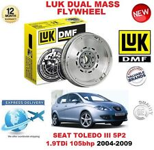 FOR SEAT TOLEDO MPV 5P2 1.9 TDi 2004-2009 ORIGINAL LUK DMF DUAL MASS FLYWHEEL