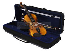 New 4/4 Antique/Flamed Violin with 350BL Case/Bow/Rosin/Free String Set