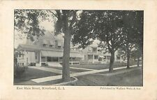 A View Of The Homes On East Main Street, Riverhead, L.I. New York NY