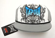 Tapout Grey Adjustable Trucker Cap Hat New NWT