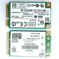 Intel WiFi Link 5300 Wireless Card 533ANMMW 802.11n For HP 8530p 6930 6530 6730p