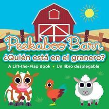 Peekaboo Barn / Quien Esta En El Granero? (Board Book)