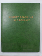 Whitmen Used Empty Coin Book Liberty Standing Half Dollars Folder 9220