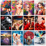 40*50cm DIY Paint By Numbers Kit Oil Painting Artwork Home Wall Decor Women New