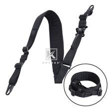 Krydex Modular Sling 2 / 1 Point Padded Tactical Shooting Sling Removable Black