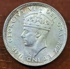 1942 C MS BU UNC Newfoundland Canada Ten 10 Cents Silver Dime Coin Lot D73