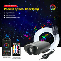 300PCS LED Car Roof Ceiling Headliner Star Light Kit Fiber Optic Remote Control